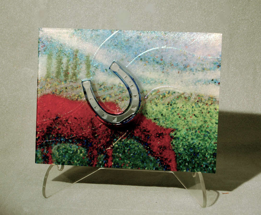 Pastoral by glass artist Michael Dupille